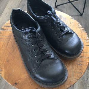 DR MARTENS Docs Anjum Black Leather Oxford Shoes